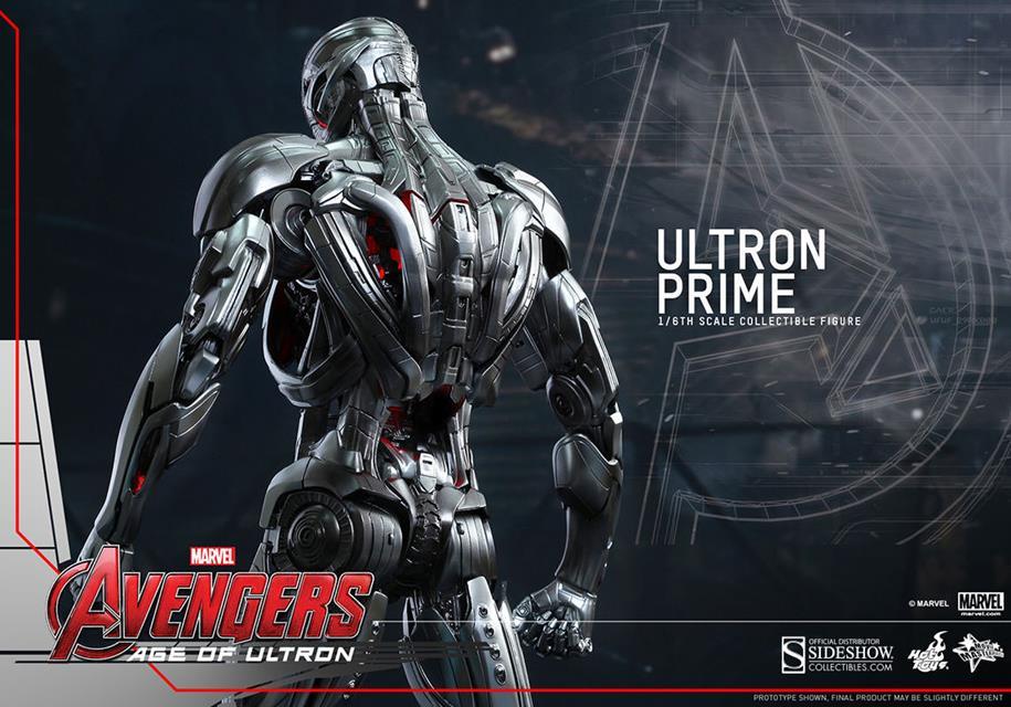 Ultron Prime Age Of Ultron Escala 1/6 - Hot Toys