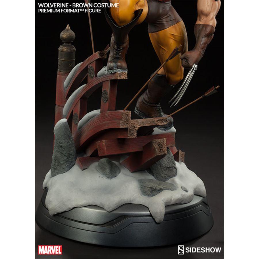 Wolverine Brown Costume Premium Format Escala 1/4 - Sideshow
