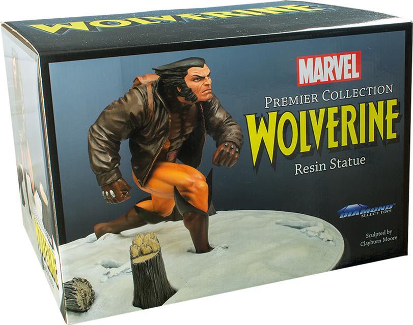 Wolverine In Snow Marvel Premiere Collection Estátua - Diamond Select