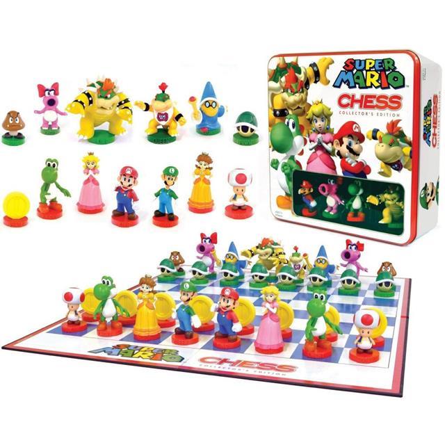 Xadrez Super Mario Collector's Edition - USAopoly