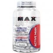 Active Man 60 Cápsulas - Max Titanium