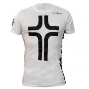Camiseta Cruz Manga Curta Masculina - Branca - Black Skull