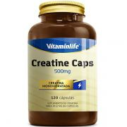 Creatine Caps 120 Cápsulas - Vitamin Life