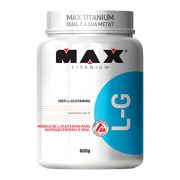 Glutamina 600g - Max Titanium