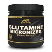 Glutamine Micronized - 300g - Leader Nutrition