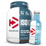 Iso 100 1,35 Kg + Iso 100 Clear RTD - Dymatize - Validade 07/17