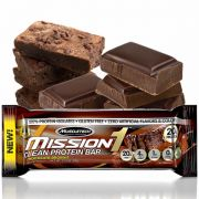 Mission 1 - Clean Protein Bar 60 g Chocolate Brownie - Muscletech