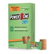 Paçoca Rolha Proteica Vegana - Caixa com 24 Unidades - Power One