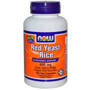 Red Yeast Rice 60 cápsulas - Now