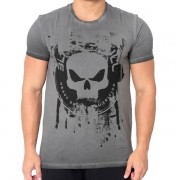 T-Shirt Skull Grafite – Black Skull