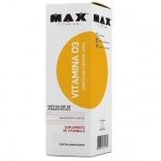 Vitamina D3 30 ml - Max Titanium