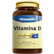 Vitamina D 60 Cápsulas - Vitamin Life