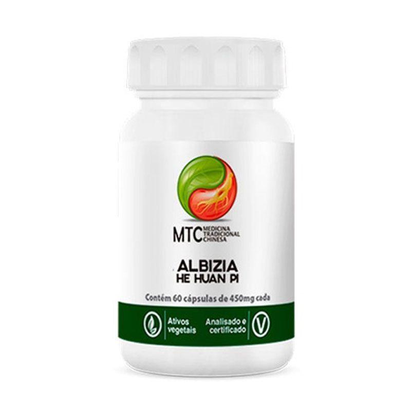 Albizia - He Huan Pi - 60 Cápsulas - Vitafor