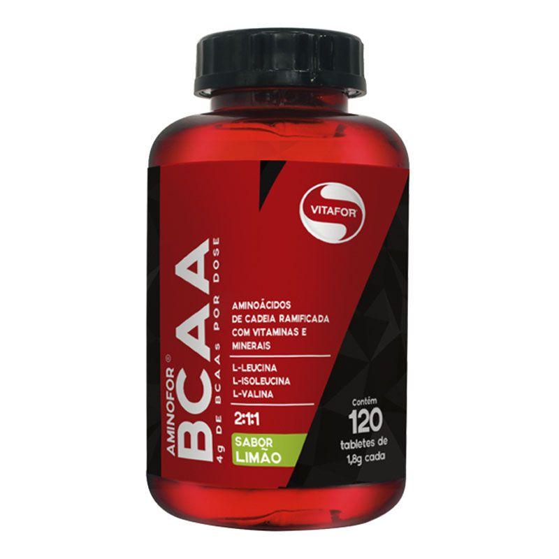 Aminofor BCAA 120 cápsulas - Vitafor
