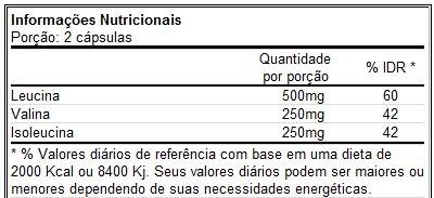 BCAA 1.000 60 Cápsulas - Optimum Nutrition