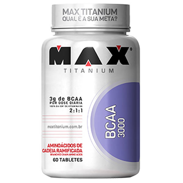 BCAA 3000 60 Tabletes - Max Titanium