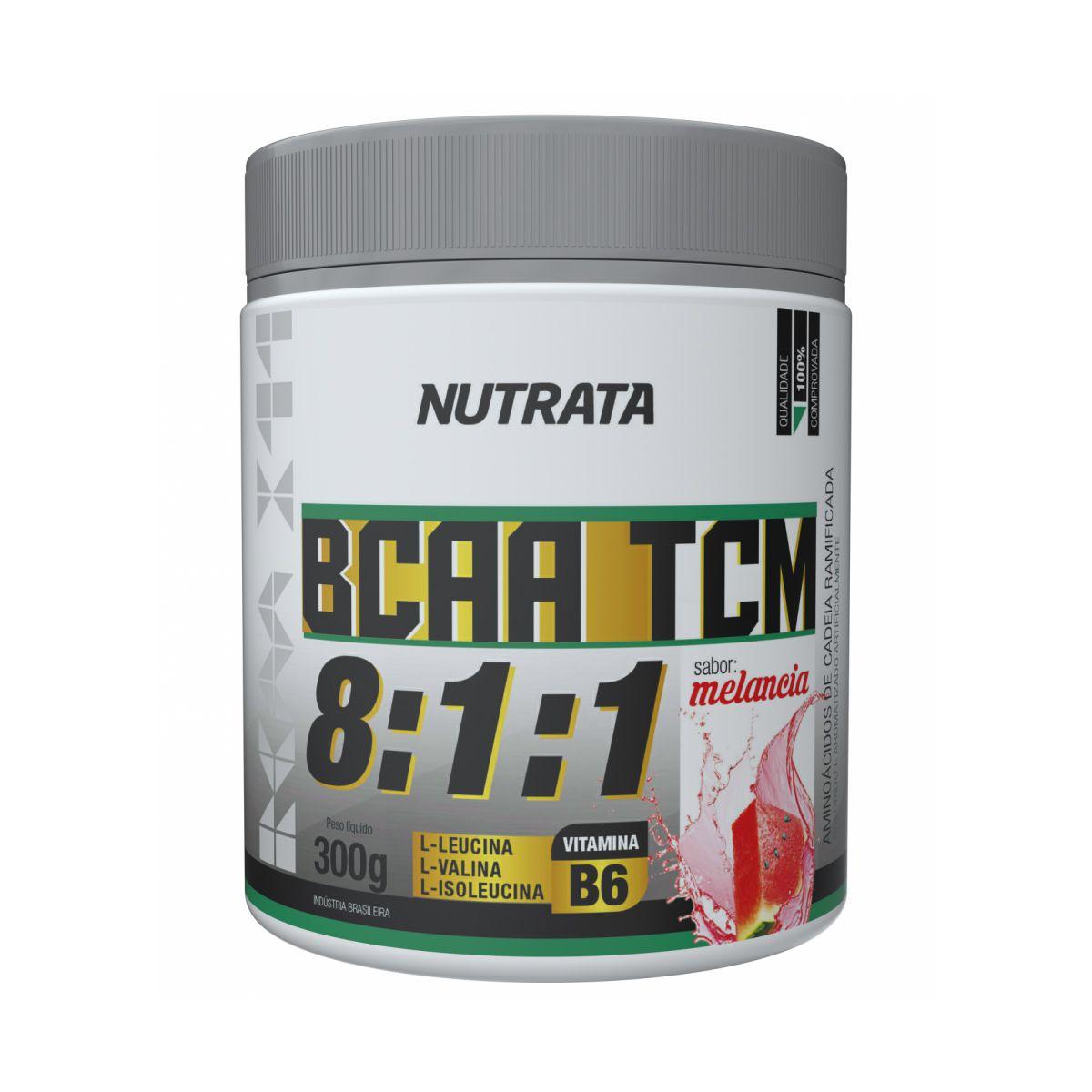 BCAA 8:1:1 TCM - 300g - Nutrata