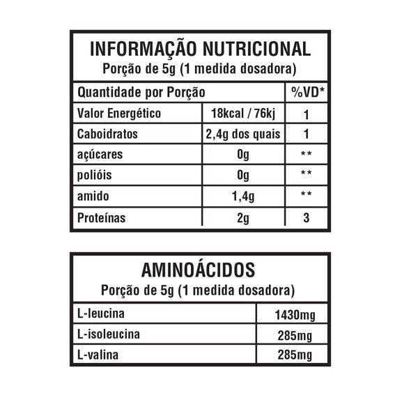 Hi-BCAA Powder 200g - Leader Nutrition