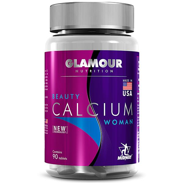 Beauty Calcium Woman 90 Cápsulas - Midway