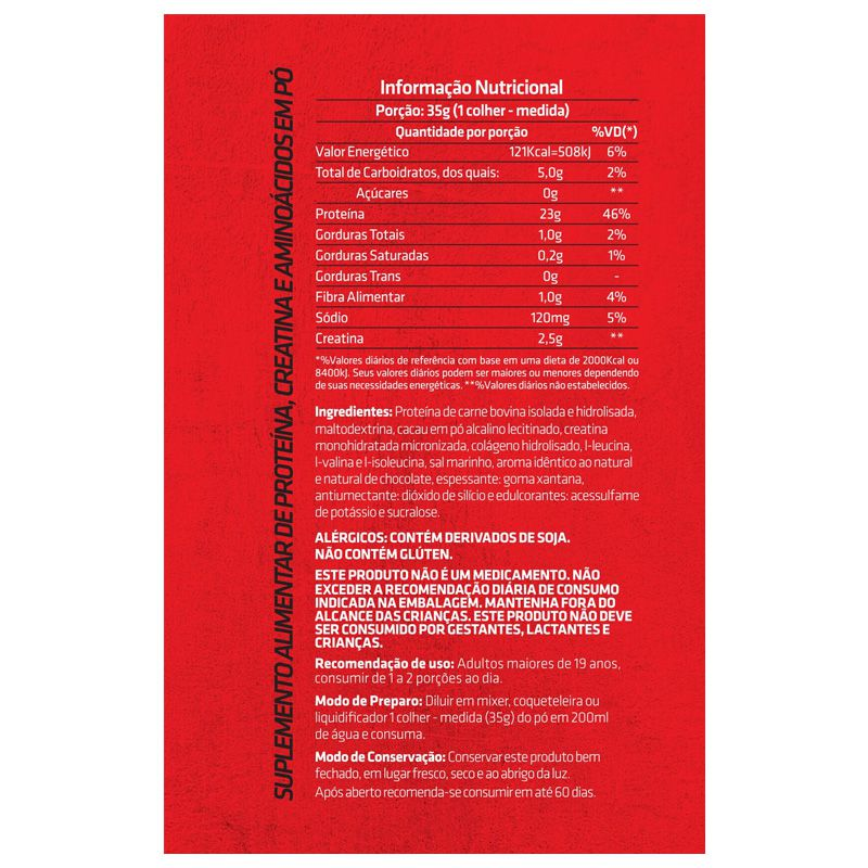 Beef Protein 4:1:0 - 875g - CRNVR