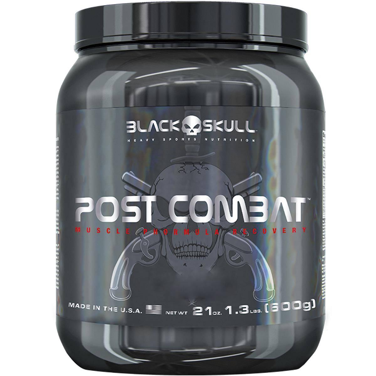 Bope Post Combat 600 g - Black Skull
