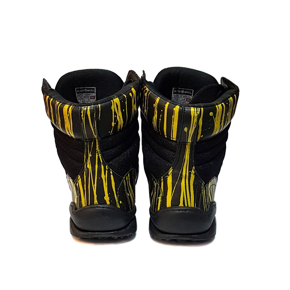 Bota - Killer 3050 Grafite - Black Skull