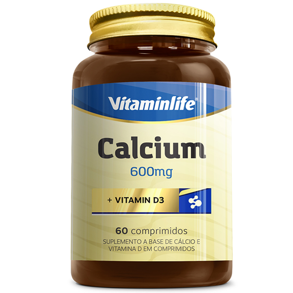 Calcium 60 cápsulas - Vitamin Life