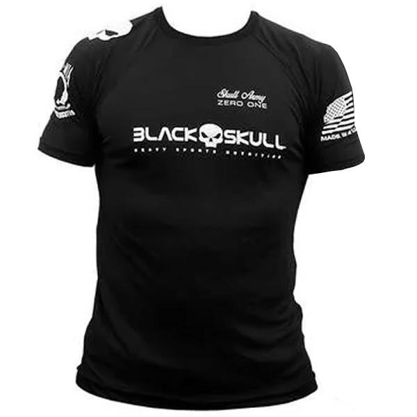 Camiseta Bope Dry Fit – Black Skull