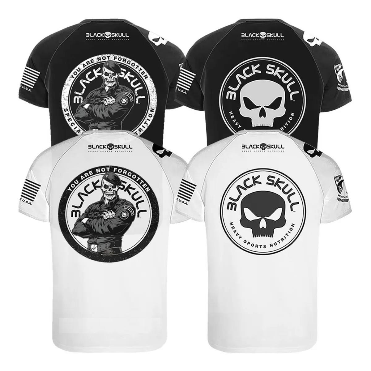 Camiseta Dry Fit - Black Skull