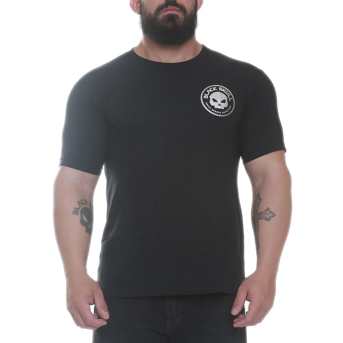 Camiseta Terminator Preto - Black Skull