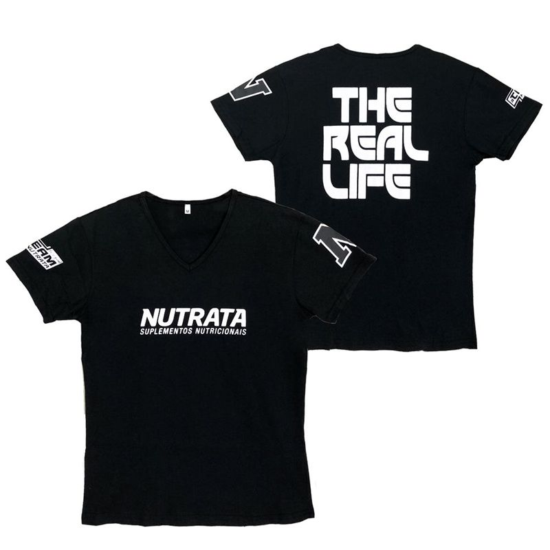 Camiseta The Real Life - Nutrata