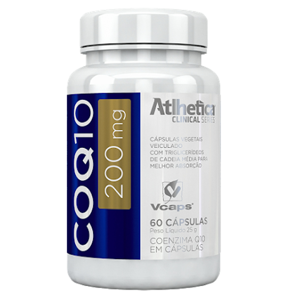 Co Q10 200 mg 60 Cápsulas - Atlhetica