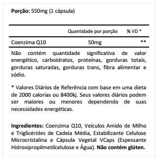 Co Q10  90 Cápsulas - Atlhetica