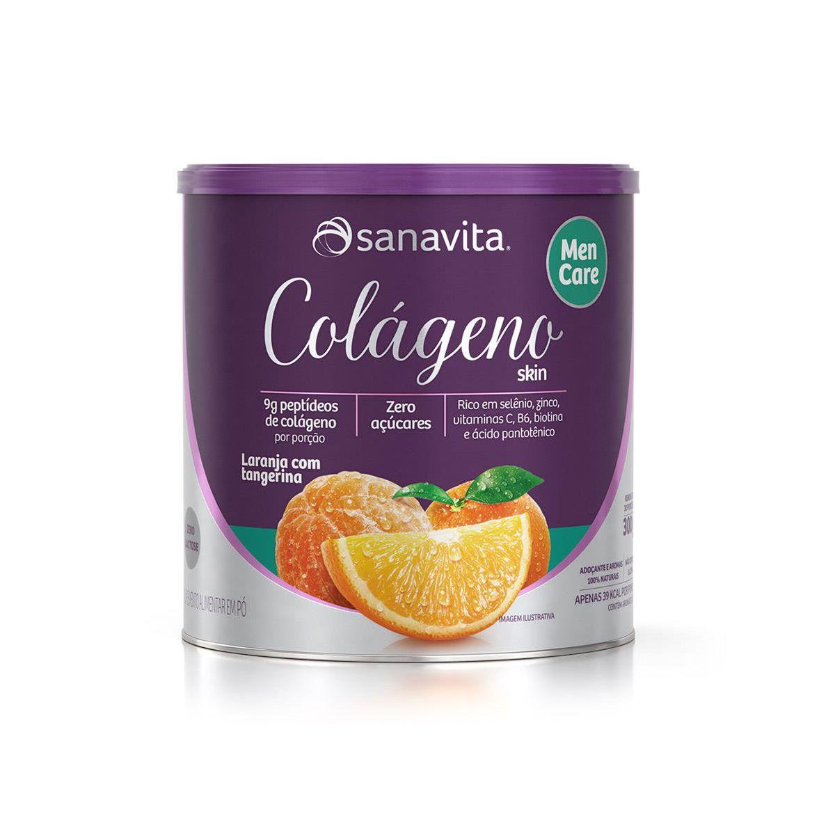 Colageno Skin Men Care - 300g - Sanavita