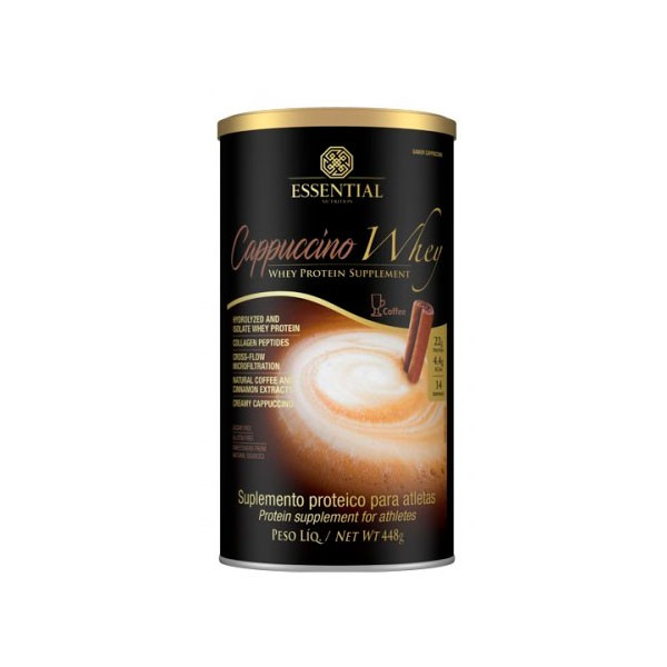 Cappuccino Whey 450g - Essential Nutrition