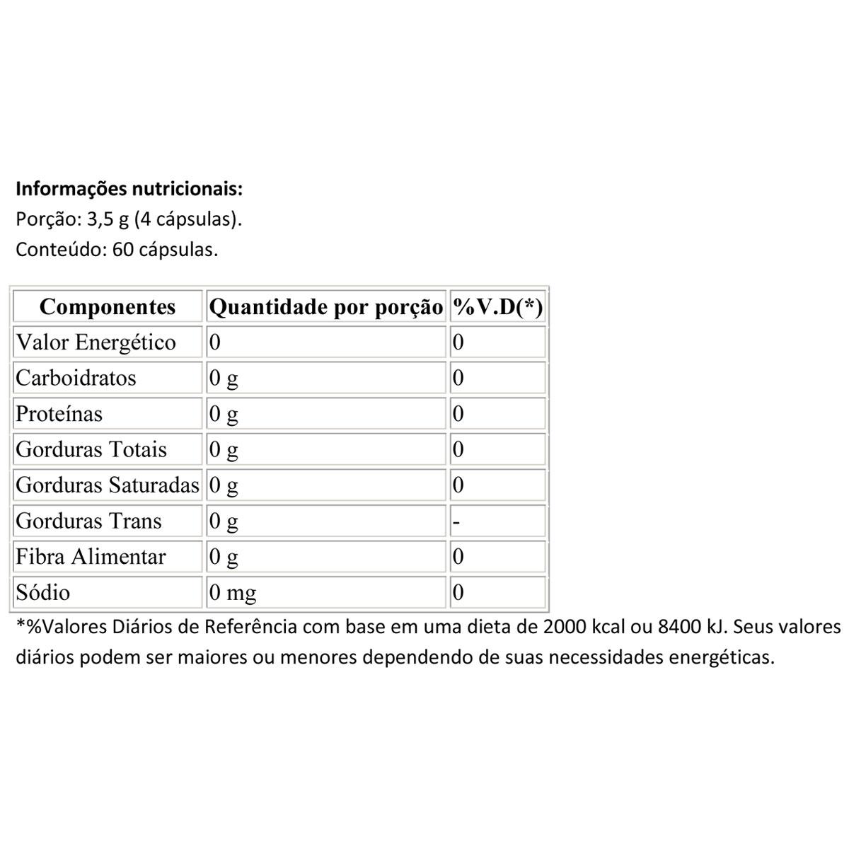 Creatina Reload 60 Cápsulas - Integral Médica