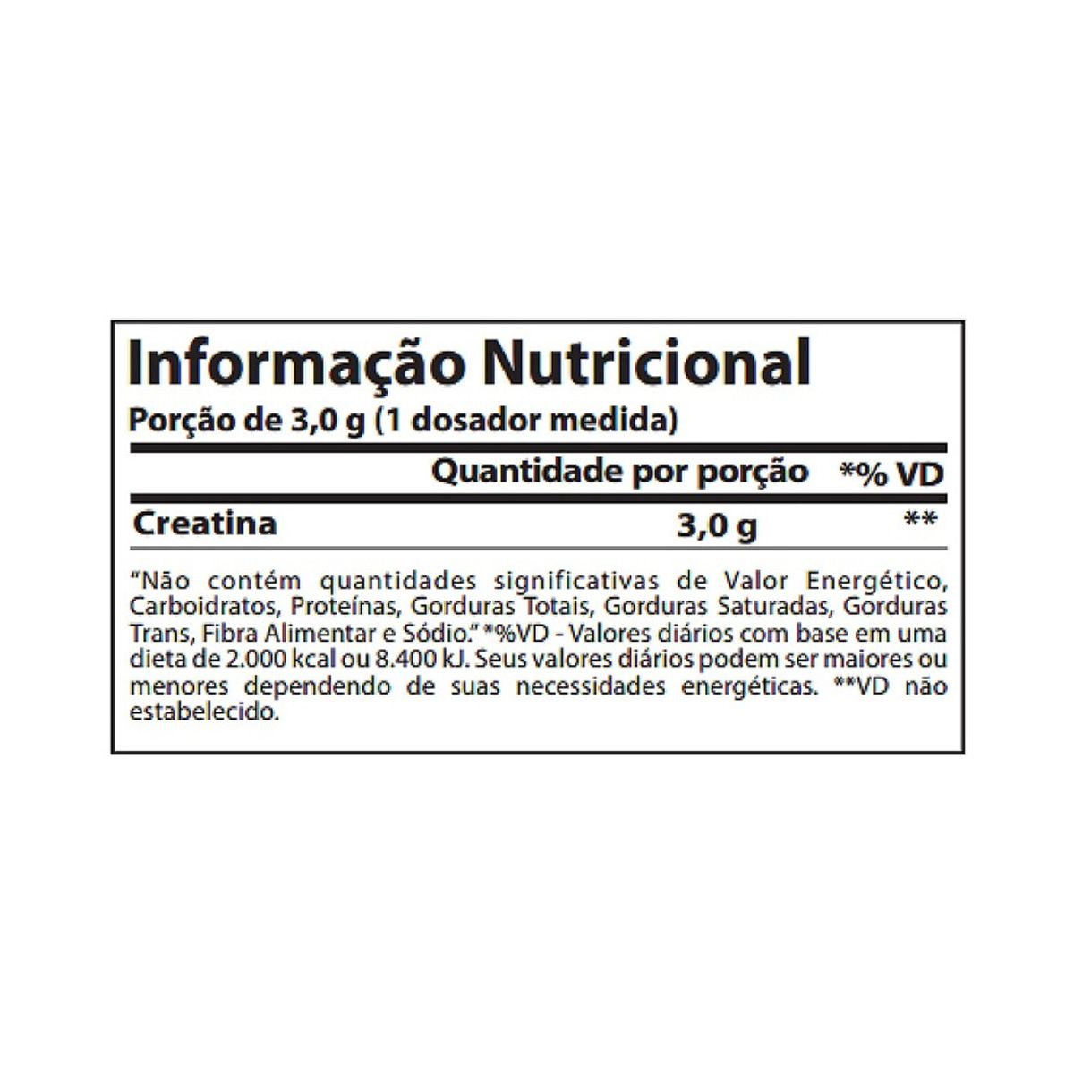 Creatine 100% Pure - 50g - Atlhetica Nutrition
