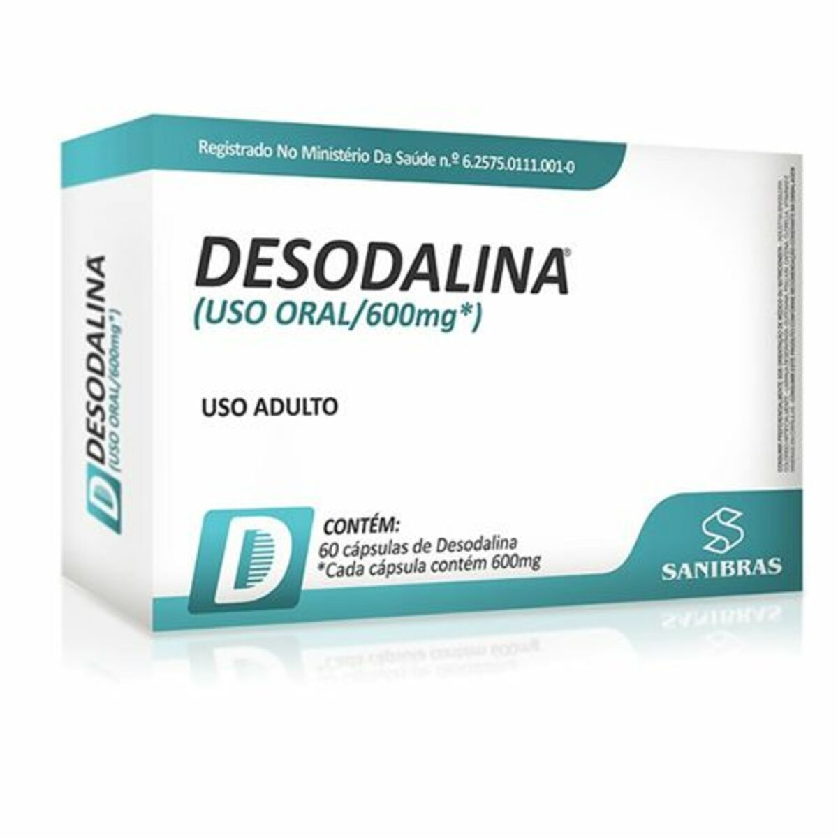 Emagrecedor Desodalina 60 Cápsulas - Power Suplements