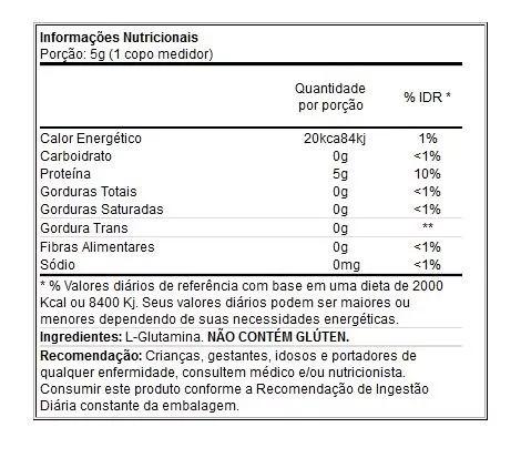 Glutamina Science 1000 Powder - 2 kg - Performance Nutrition