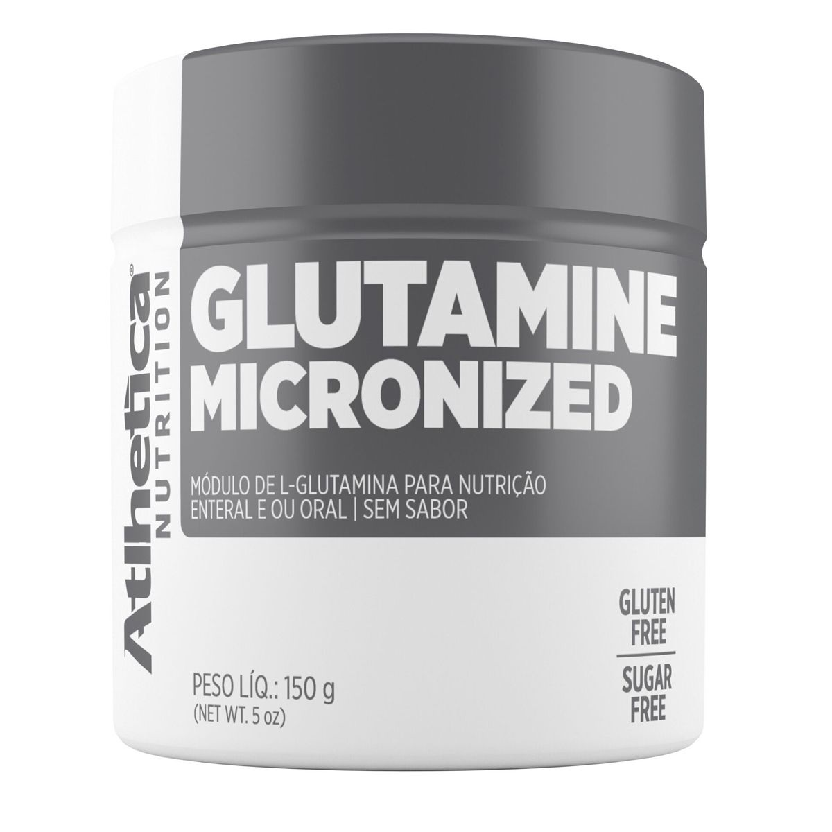 Glutamine Micronized - 150 g - Atlhetica