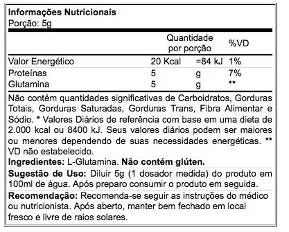 Glutamine Micronized 300 g - Atlhetica