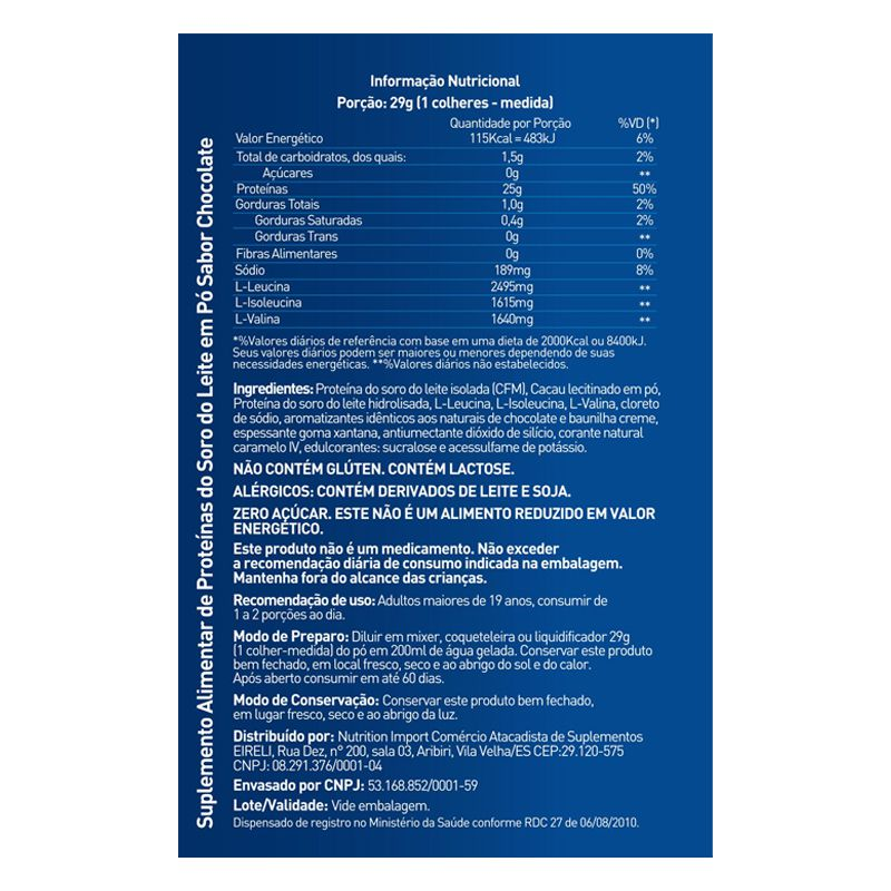 Hydrofast - 800g -Blue Series
