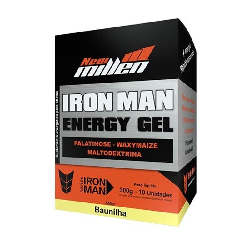 Iron Man Energy Gel 300g (10 sachês) - New Millen