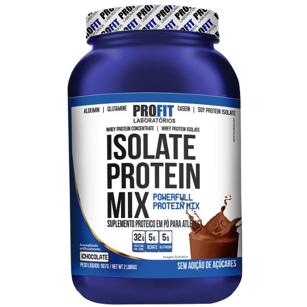 Isolate Protein Mix (Sc) - 900 G - Profit