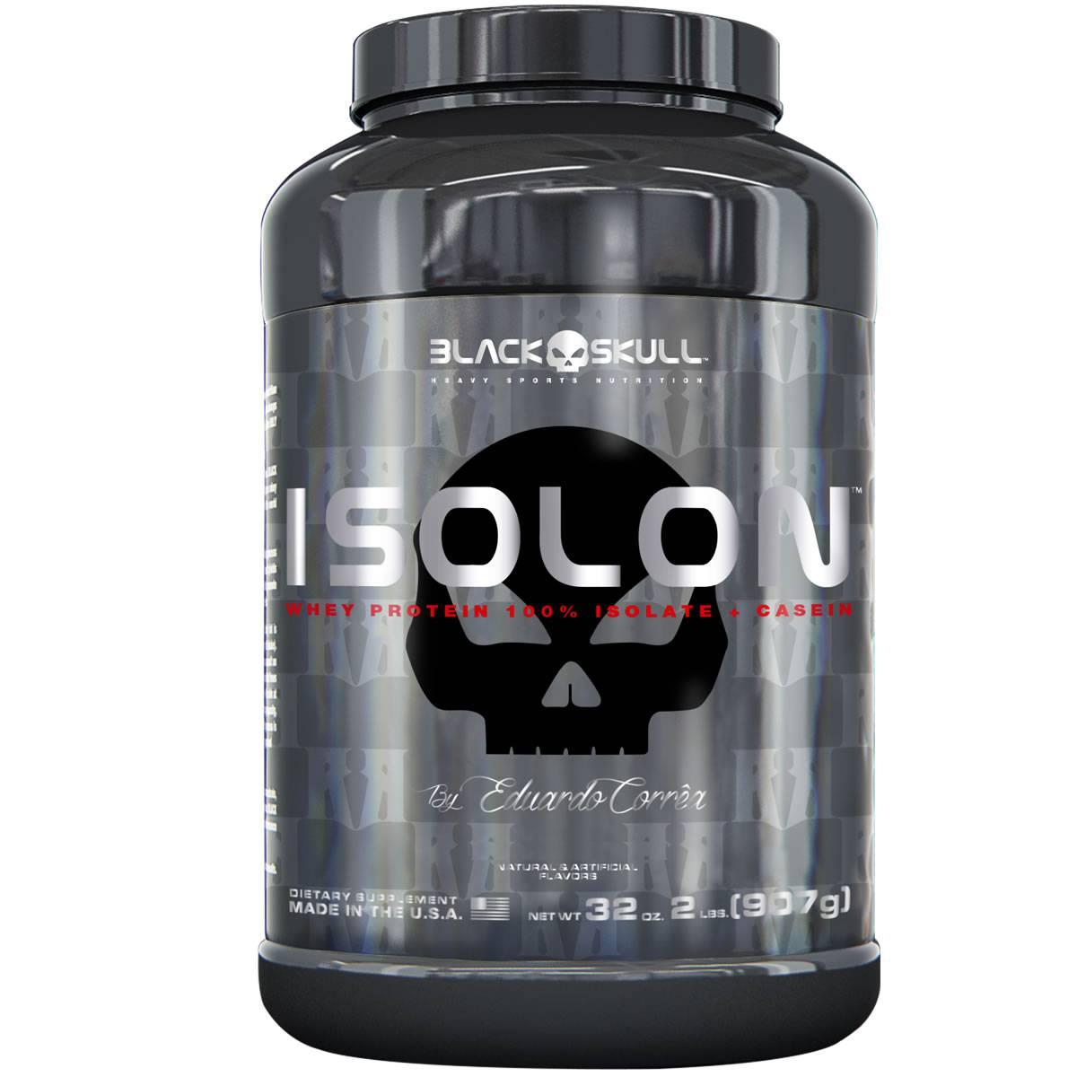 Isolon 900 g - Black Skull