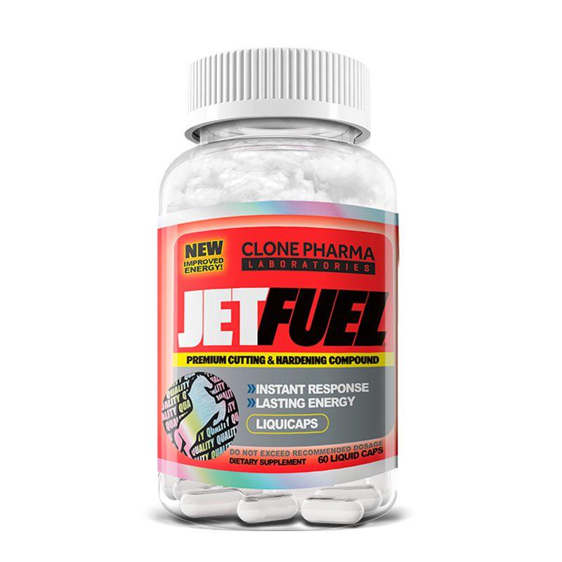 Jet Fuel - 60 Cápsulas - Clone Pharma