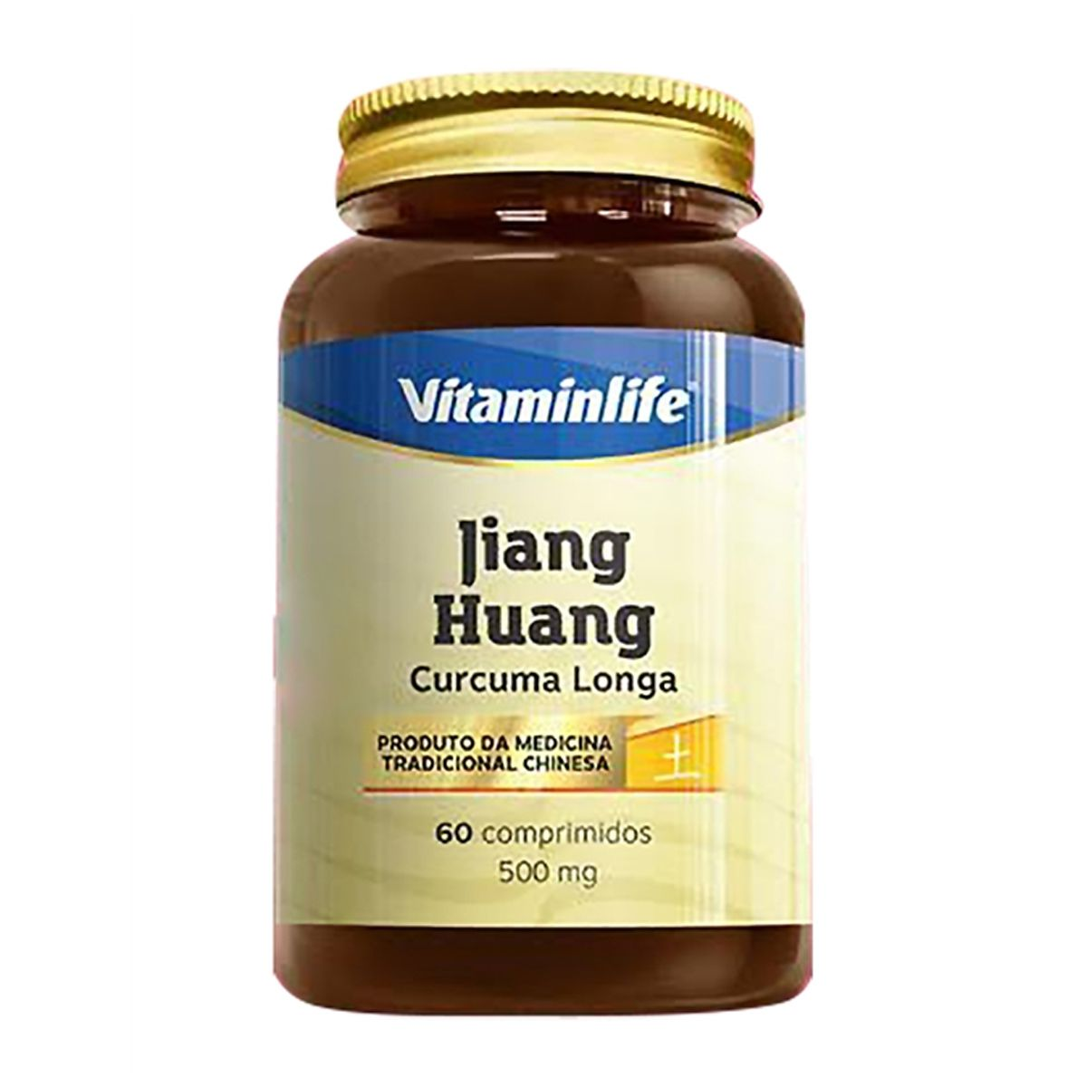 Jiang Huang Curcuma Longa - 60 Cápsulas - Vitamin Life