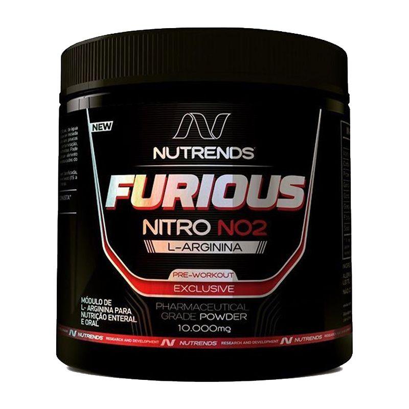 L-Arginina Furious Nitro NO2 - 250g - Nutrends