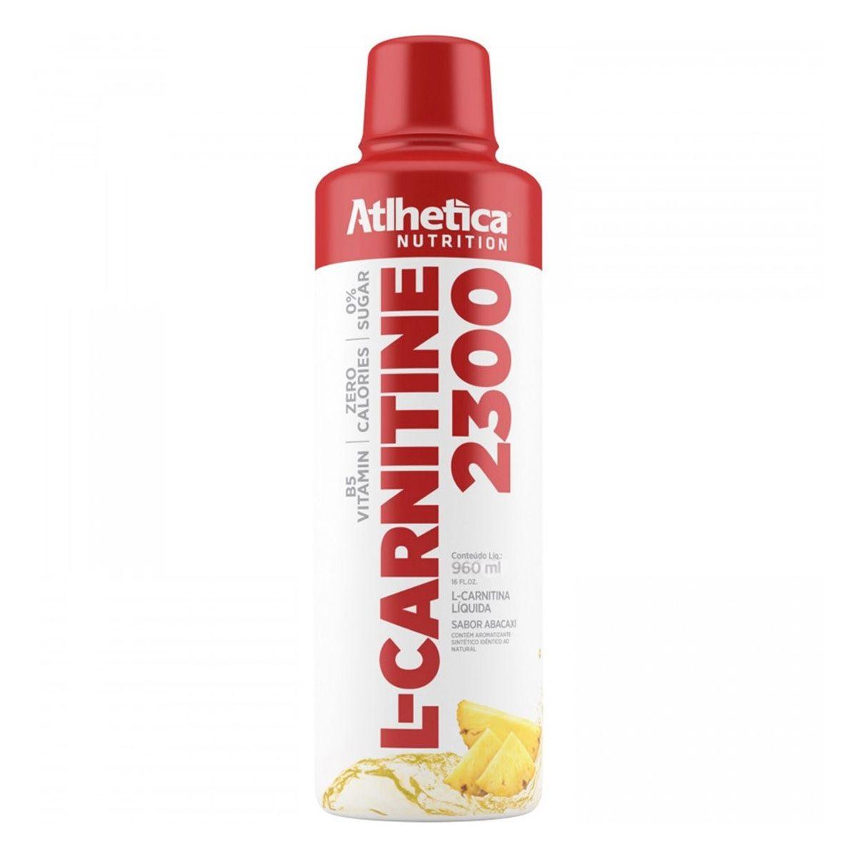 L-CARNITINE 2300 - 960ML - Atlhetica Nutrition