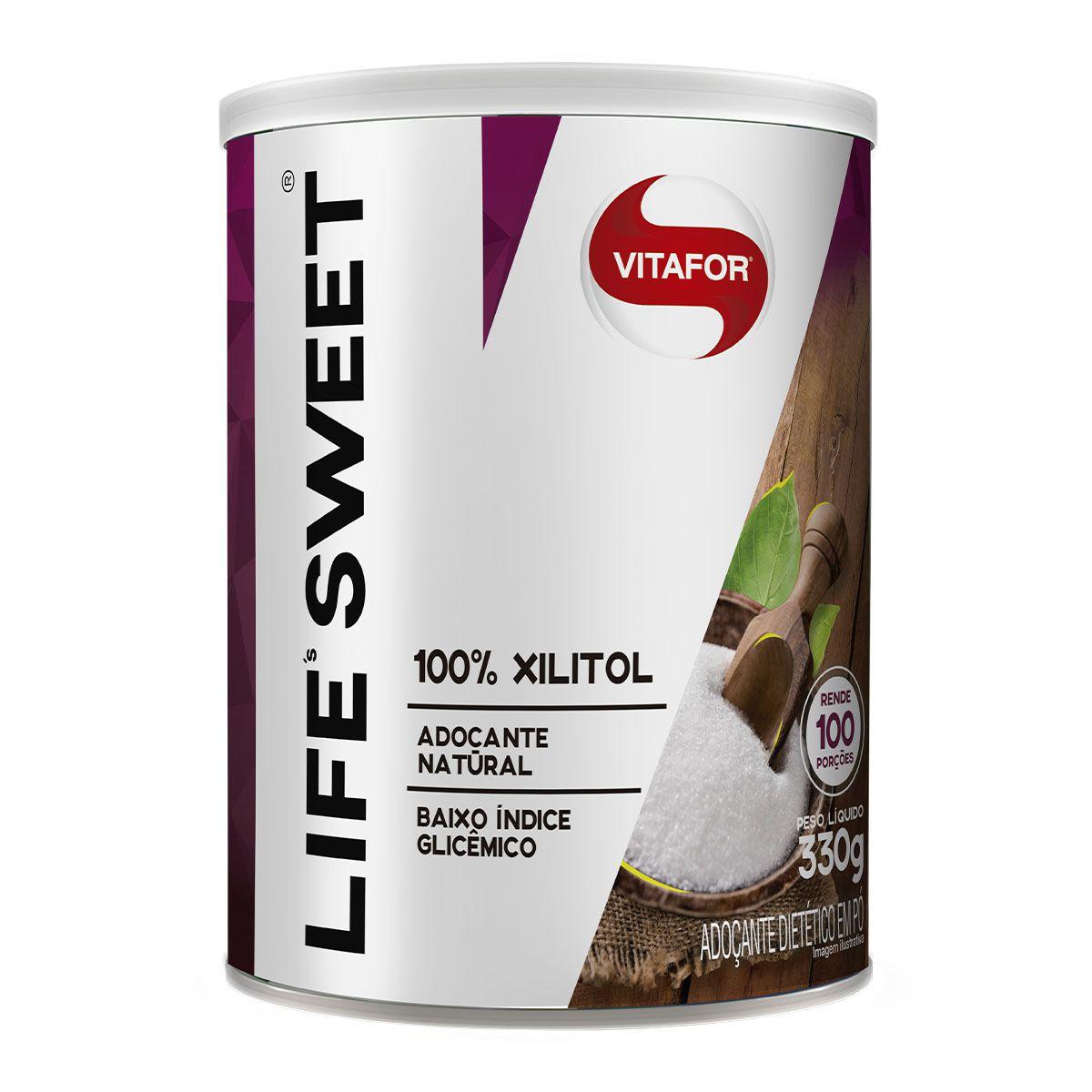Life Sweet Xilitol 330g - Vitafor